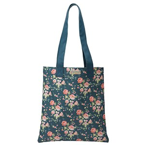 Sac de course Flower Girl Julie Dodsworth Bleu roi 31x35cm