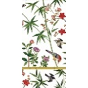 Caspari  Mouchoirs Chinese wallpaper  21x21cm