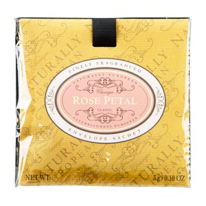 The Somerset Toiletry NATURALLY Sachet Senteur Rose  3gr