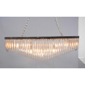 Lustre Entrelacs rectangle  34x100cm