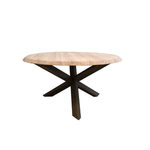 Table Casis Trunk ronde  135x77cm
