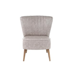 Fauteuil relax Solo DC Cuir  67x65xh41x80cm