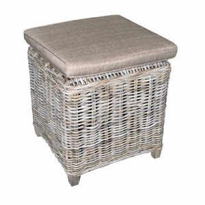 Table d'appoint Tennessee avec coussin  47x47x47cm. 0.09m³
