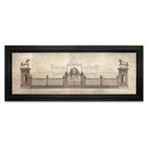 Tableau Grand Estate Gates  61x 20.3cm