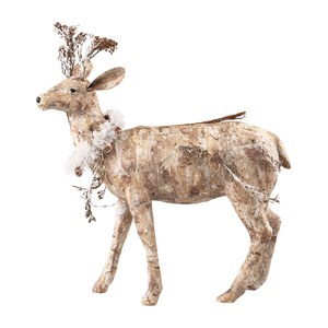 Nature Cerf debout Nature  61x25.5x69cm