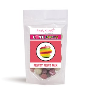 Simply Candy  Bonbons Fruits Mix 150gr  150gr