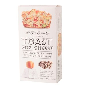 Toasts Abricots, Pistaches et Graines de Tournesol  100gr