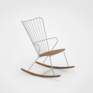 Houe PAON Rocking chair PAON Gris taupe Ø12mm + Ø6mm
