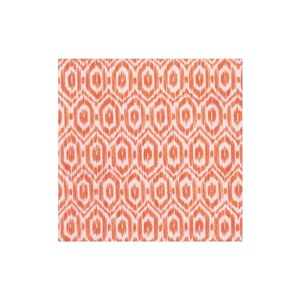 Caspari  Serviette Lunch Amala ikat Orange 33x33cm