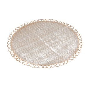 Schilliger Design  Set de table Papara rond Beige 38cm