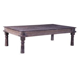 Schilliger Design P Table basse en teck ancien  179x106x55cm