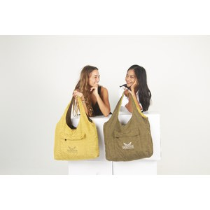Descotis  Sac Swag réversible Gold / Natural Beige Beige