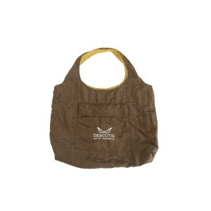 Descotis  Sac Swag réversible Olive Brown / Sparkling Gold Brun