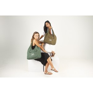Descotis  Sac Swag réversible Sage Green / Olive Brown Vert malachite