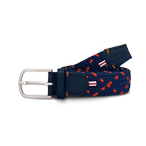 Cross Ceinture tressée Cross Rome Orange 105cm
