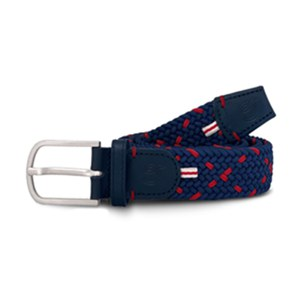 Cross Ceinture tressée Cross Copenhagen Rouge vif 105cm