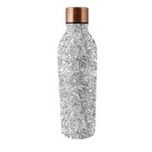 Bouteille isotherme Silver Sparkle Gris argent 500ml