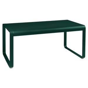 Fermob Bellevie Table Bellevie Mi-Haute Vert sapin L 140 x l 80 x H64cm