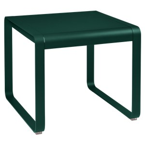 Fermob Bellevie Table Bellevie Mi-Haute Vert sapin L 74 x l 80 x H64cm