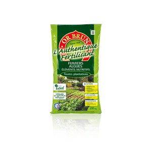 Or brun  Fertilisant jardin Or brun 20kg  20 Kg