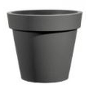 Veca  POT EASY D 80 cm ANTHRACITE Gris anthracite 80x75cm 210L