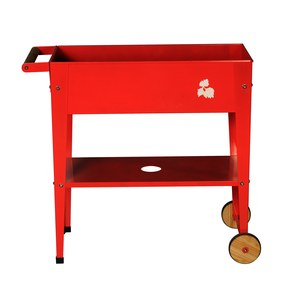 Urban Garden Trolley Red Rouge sang 70x35x80 cm
