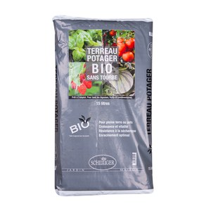 Schilliger Production  Terreau Potager Bio Schilliger Sans Tourbe  15L