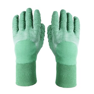 Gants Rosier Taille 08 Latex naturel sur support coton.  taille 08