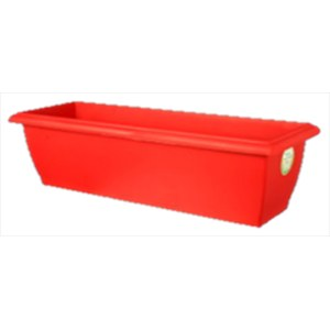 EVOLUTION JARDINIERE 50 ROUGE Rouge framboise 49x19,5x16cm