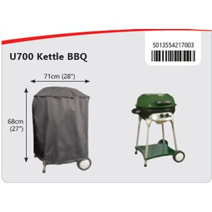 Bosmere  Housse Barbecue Kettle Gris anthracite