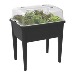 Elho  green basics table de culture super XXL Noir 77x58x73cm 92L