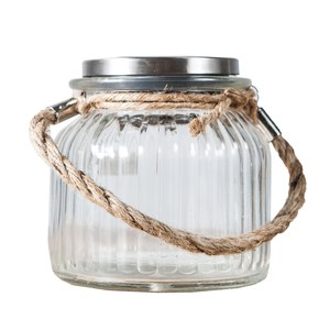 Luxform  Glass jar  115x112x115mm