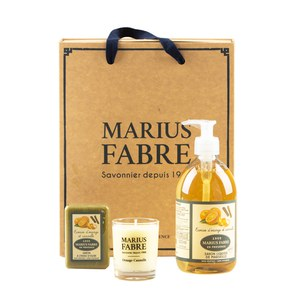 Marius Fabre  Coffret Herbier Ecorces d'orange et cannelle