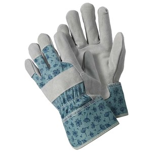 Briers  Gants Rugueux Allium Blue Bleu céleste medium