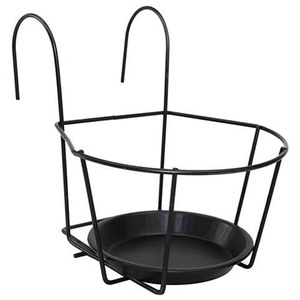 Herstera  Support pour Balcon 22cm Anthracite Gris anthracite 22cm