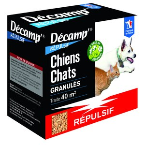 Décamp  Repulsif Chiens Chats Granules  400G
