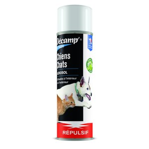 Décamp  Repulsif Chiens Chats Aerosol  400ml