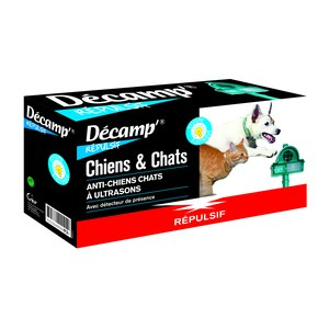 Décamp  Repulsif Chiens Chats Ultrason