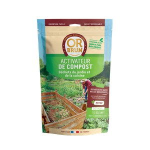 Or brun  Activateur de compost 1,5kg Beige lin