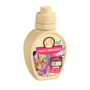 Or brun  Engrais Orchidées 250 Ml Beige lin 250ml
