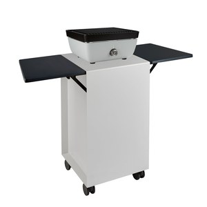Ferleon Patio cooker > Trolley Trolley pour Grill plancha Patio Cooker Trespa Blanc chenu 810 x 450 x 450 mm