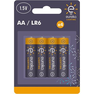 AA Alkaline Battery Blister-4  1.5V