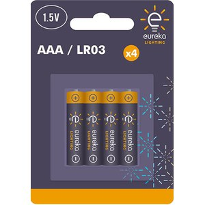 AAA Alkaline Battery Blister-4  1.5V