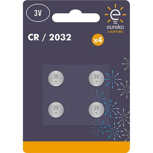 CR2032 3V Button Cell Blister-4  3V