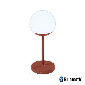 Fermob Mooon! Lampe Moon H69 Rouge ocre H63cm Diam : 25