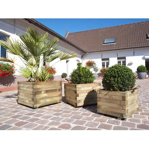 Forest Style  Bac BAROQUE carré 600x600x430 mm  600x600x430mm