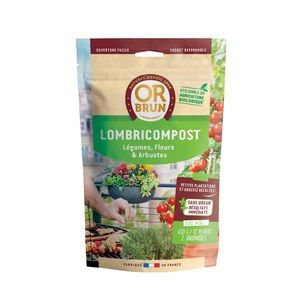 Or brun  Lombricompost 650G