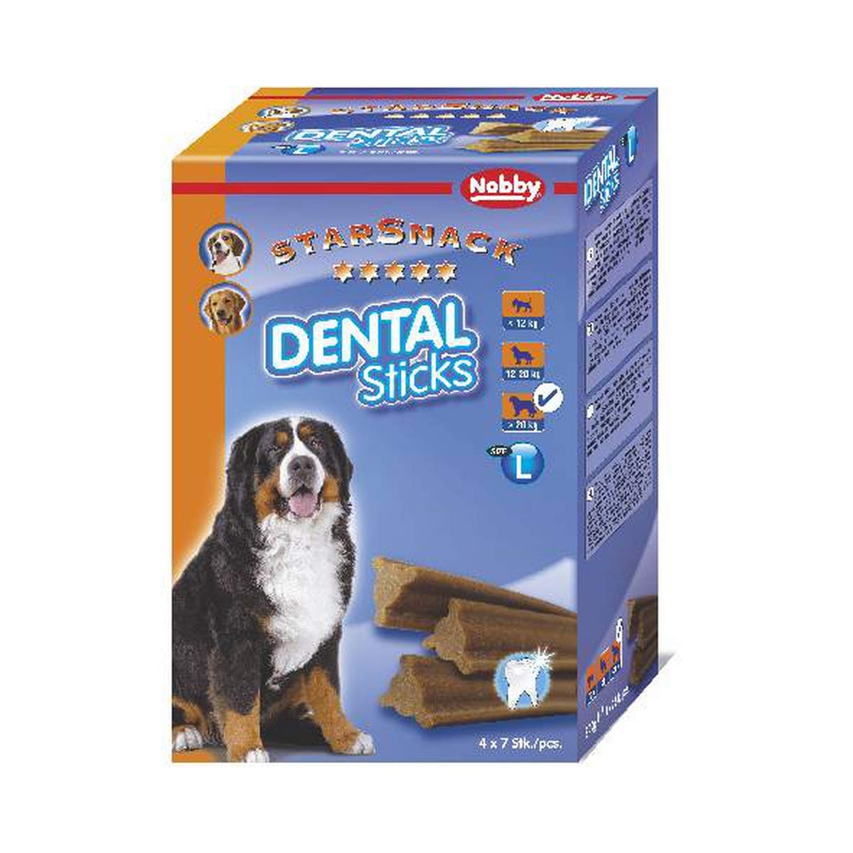 StarSnack Dental Sticks. grand. 840 g  840 g