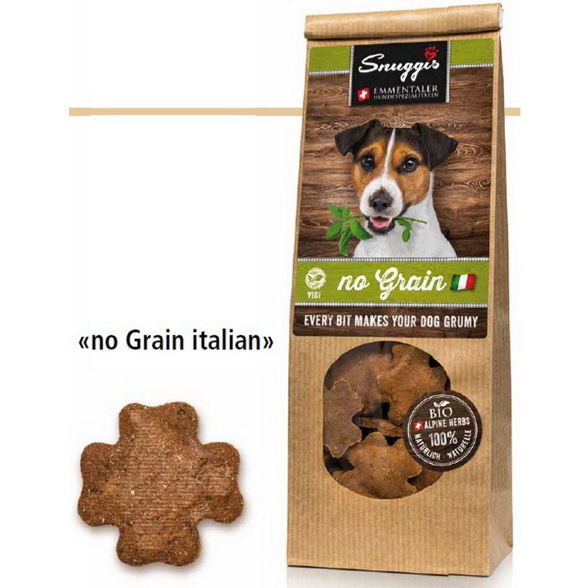 No Grain Italian (vegetarian) 100g  100g
