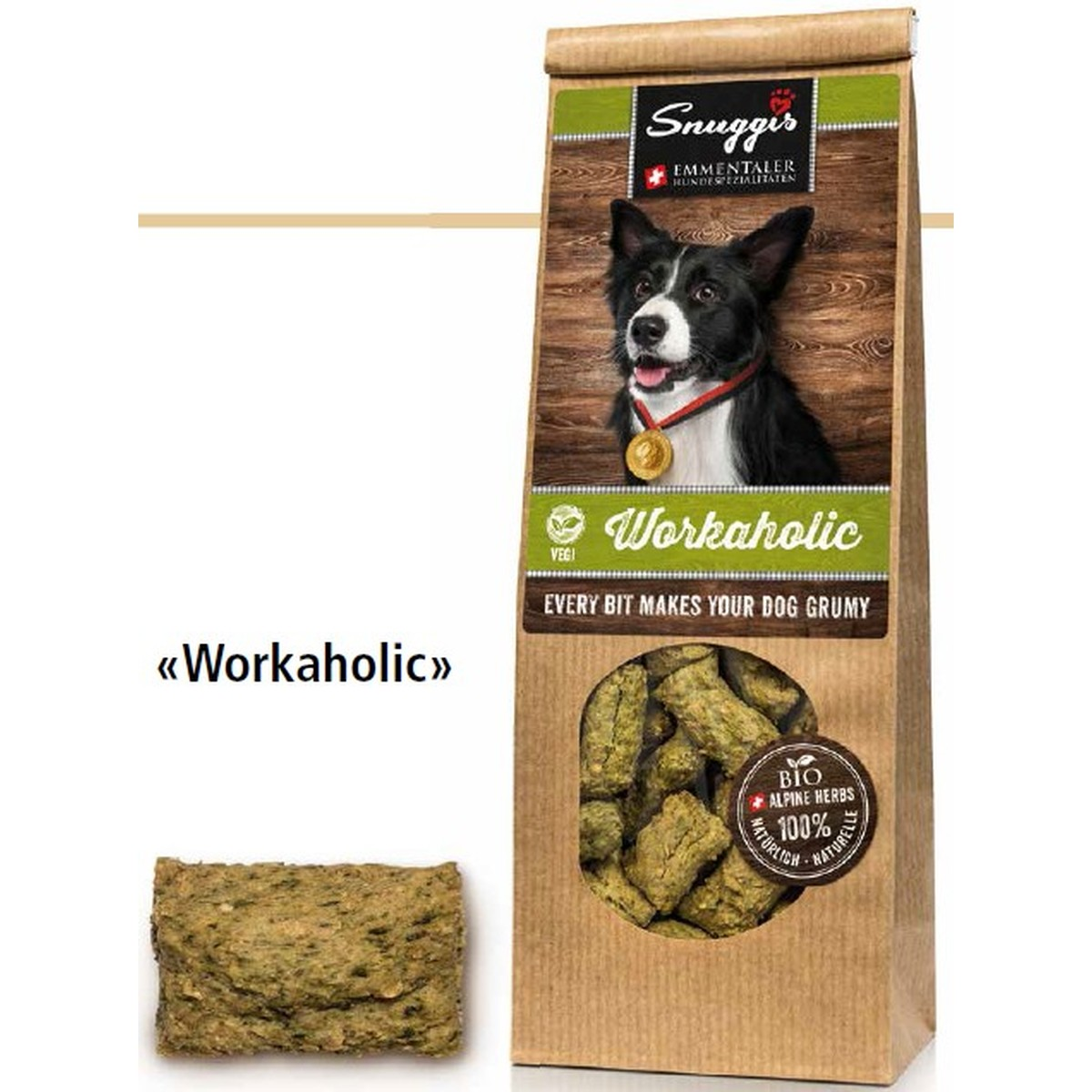 Workaholic (vegetarian) 100g  100g